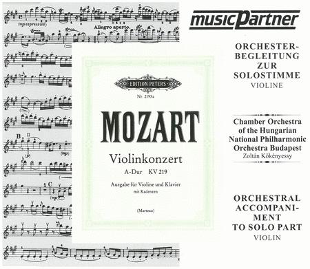 Violin Concerto No.5 K.219 in A Major (CD)