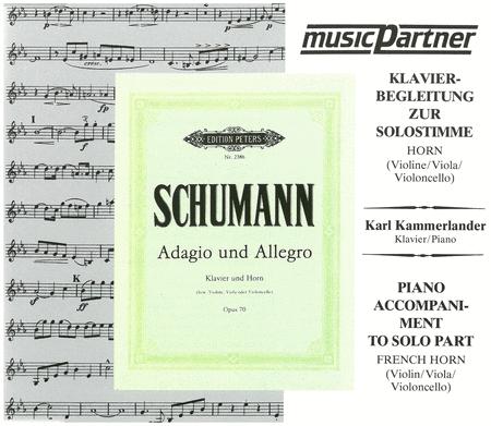 Adagio & Allegro Op.70 (CD)