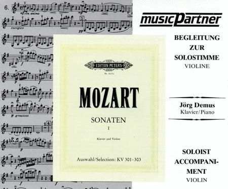 Violin Sonatas K.301(G), K.302(Eb), K.303(C)