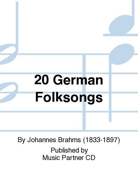 20 German Folksongs