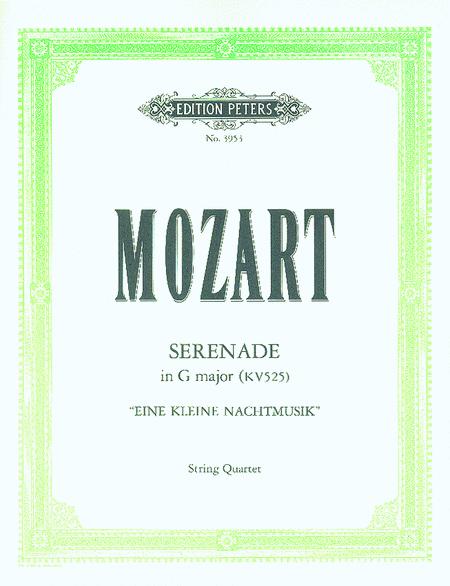 Eine kleine Nachtmusik (Serenade in G) K.525