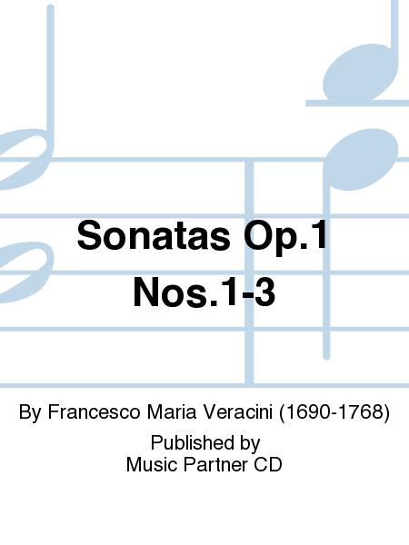 Sonatas Op. 1 Nos. 1-3