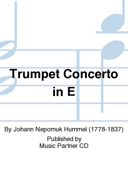 Trumpet Concerto in E