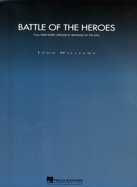 Battle of the Heroes (from Star Wars Episode III: Revenge of the Sith)
