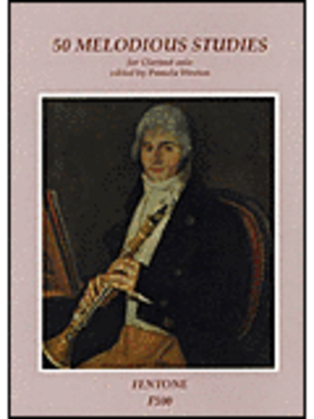 50 Melodious Studies for Clarinet Solo