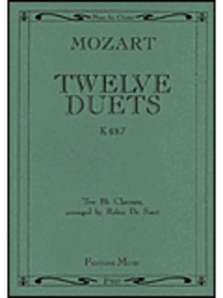 12 Duets K487