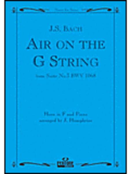 Air on the G String BWV 1068