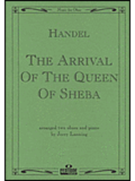 Arrival Of The Queen Of Sheba Piano Solo