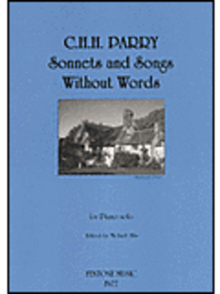 Sonnets And Songs Without Words For Piano Solo