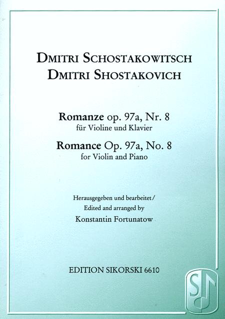 Romance Op. 97a, No. 8