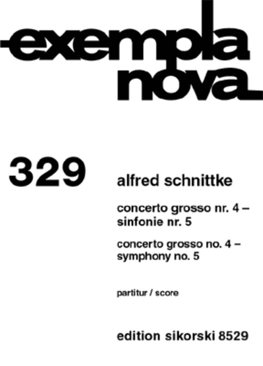 Concerto Grosso No. 4 & Symphony No. 5