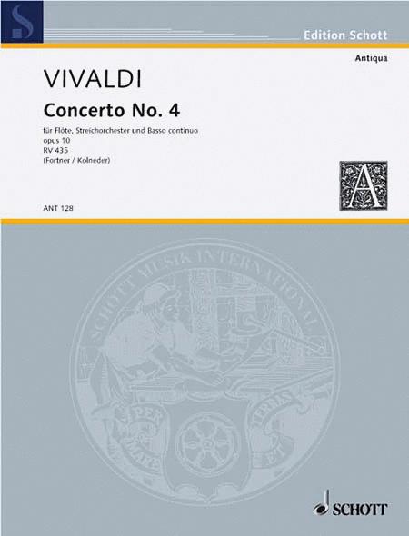 Concerto No. 4 RV 435/PV 104