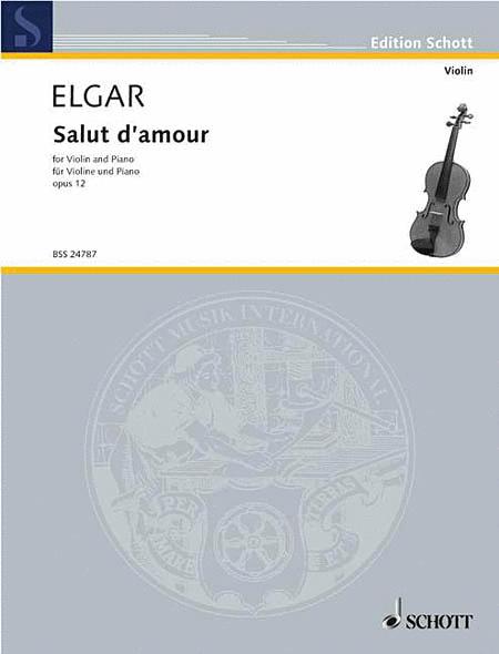 Salut d'Amour, Op. 12, No. 3