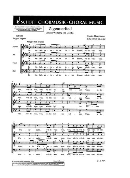 Zigeunerlied Op.32 No. 2