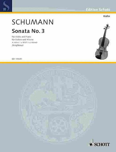 Sonata No. 3 in A Minor, Op. Post.