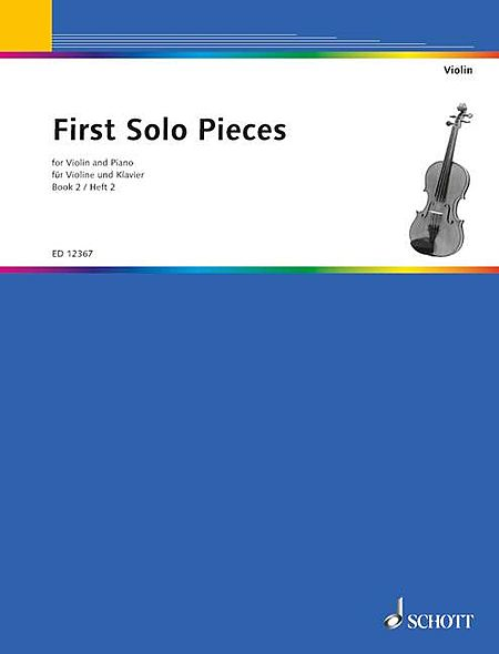 First Solo Pieces - Volume 2