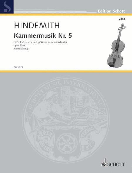 Kammermusik #5 Op. 36, No. 4