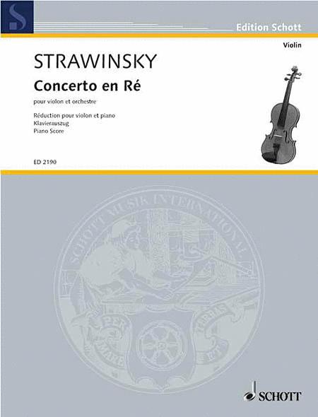 Concerto in D (1931)