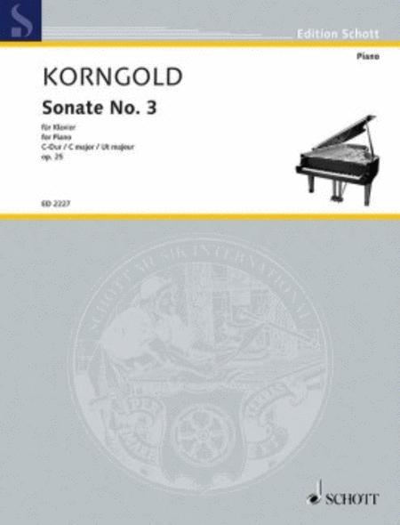Sonata No. 3 C Major, Op. 25