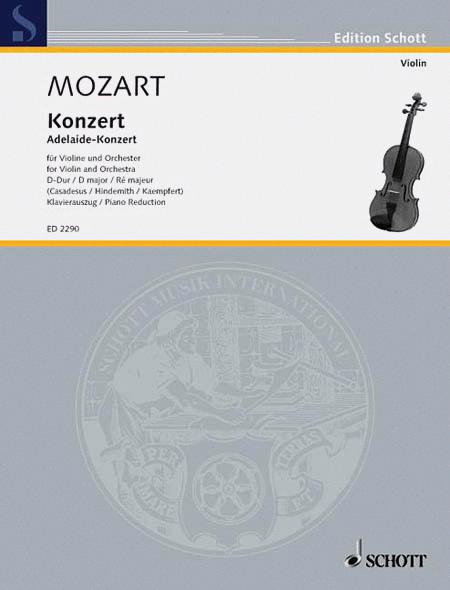 Concerto in D Major, KV. 294a