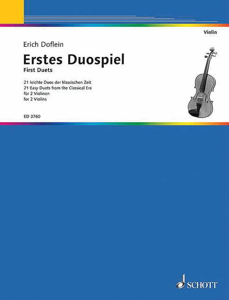 First Duets for Two Violins