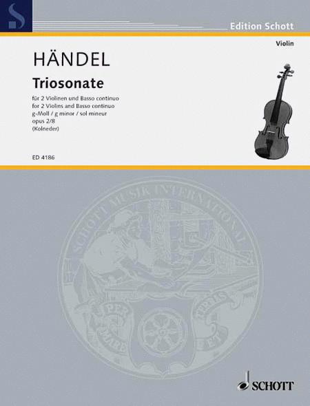 9 Trio Sonatas Op. 2, No. 8