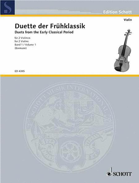 Violin-Duette der Frühklassik (Early Classical Violin Duets) - Volume 1