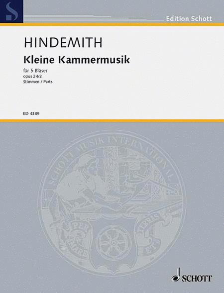 Kleine Kammermusik, Op. 24, No. 2
