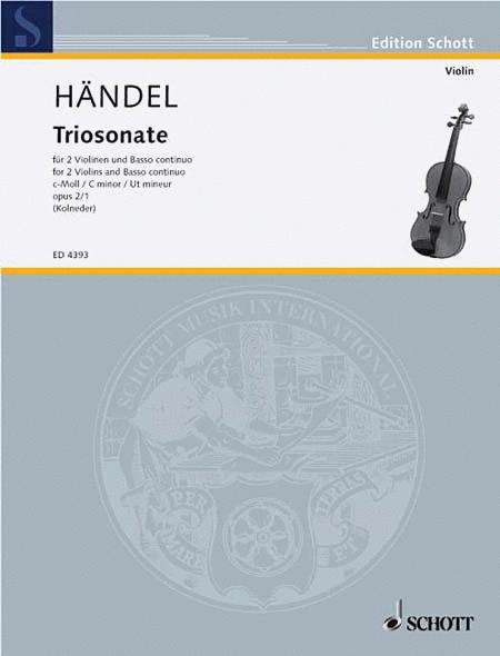 9 Trio Sonatas Op. 2, No. 1