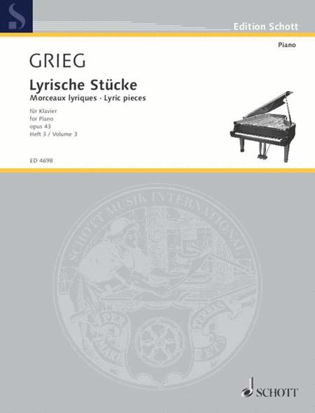Lyric Pieces Book 3 Op. 43