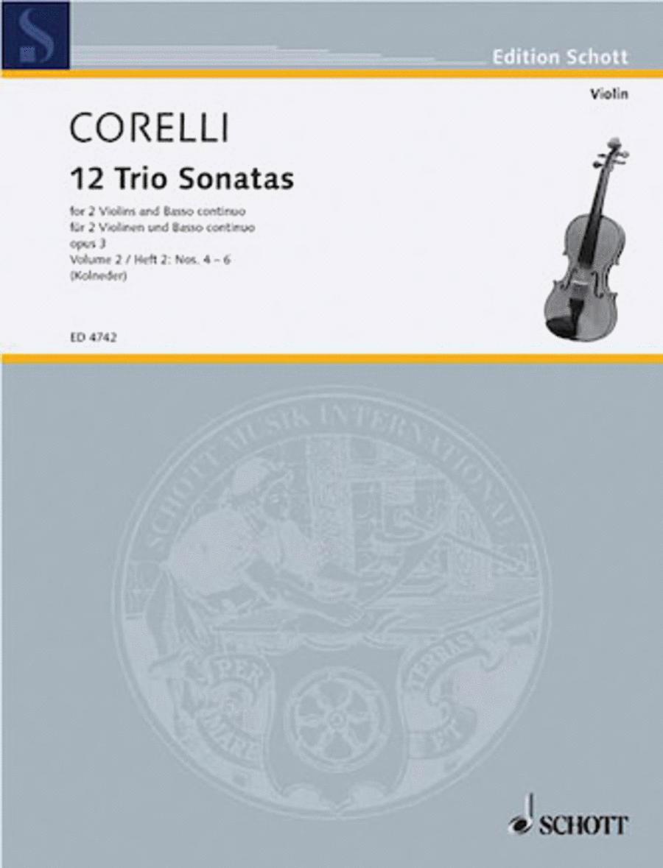 Trio Sonatas Op. 3, Nos. 4-6