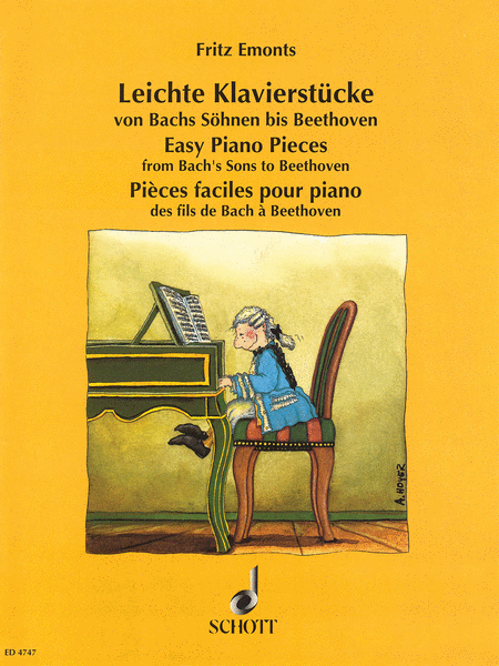 Easy Piano Pieces from Bach's Sons to Beethoven