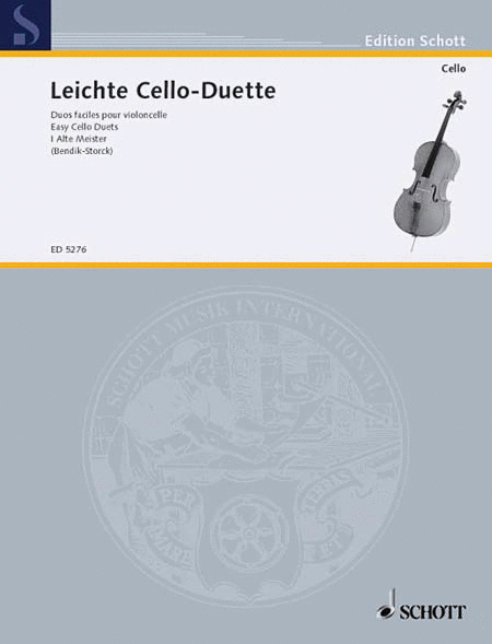 Easy Cello Duets Vol. 1