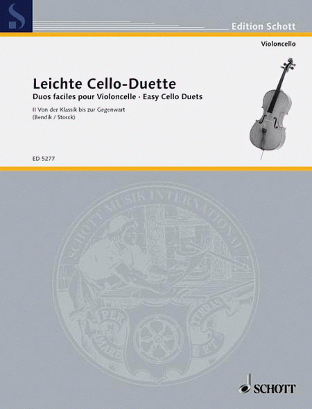 Easy Cello Duets Vol. 2