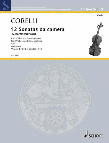 12 Trio Sonatas Op. 2, Nos. 4-6