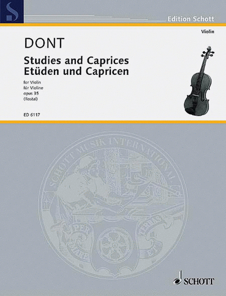 Etudes and Caprices, Op. 35