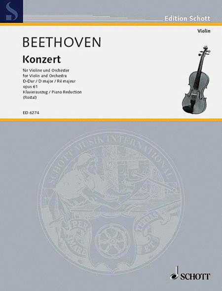 Concerto D Major, Op. 61