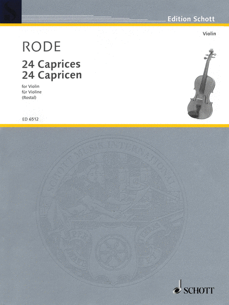 24 Caprice Etudes in the form of Etudes, in all 24 Keys