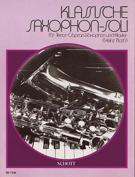 Klassische Saxophone-soli