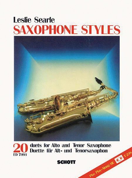 Saxophone Styles - 20 Duets