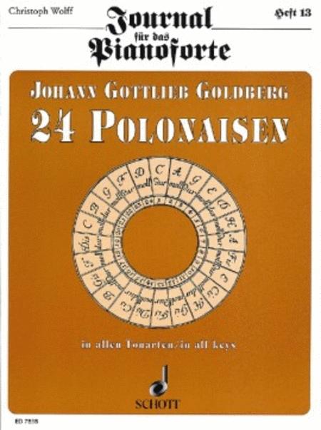 24 Polonaises in All Keys