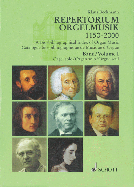 A Bio-bibliographical Index of Organ Music 1150-2000
