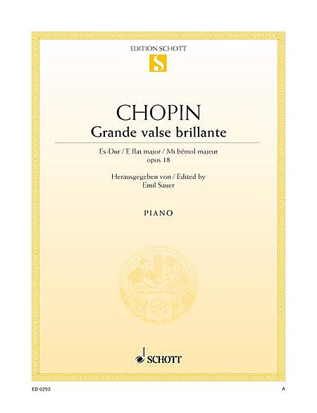 Waltz in E-flat Major, Op. 18, Grande Valse Brillante