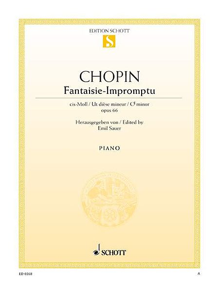 Fantasie-Impromptu in C-sharp Minor, Op. 66 (posth.)
