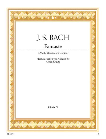 Fantasy In C Minor, BWV 906,1