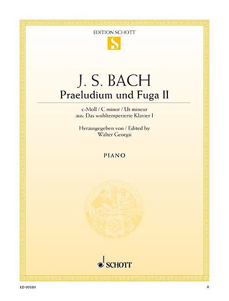 Prelude and Fugue No. 2 in C Minor
