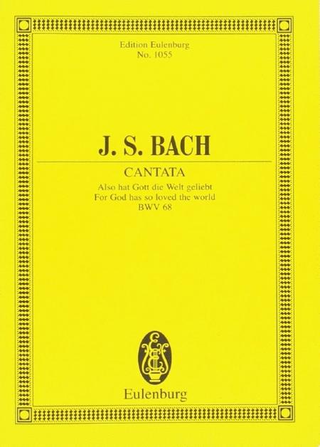Cantata No. 68, Feria 2 Pentecostes