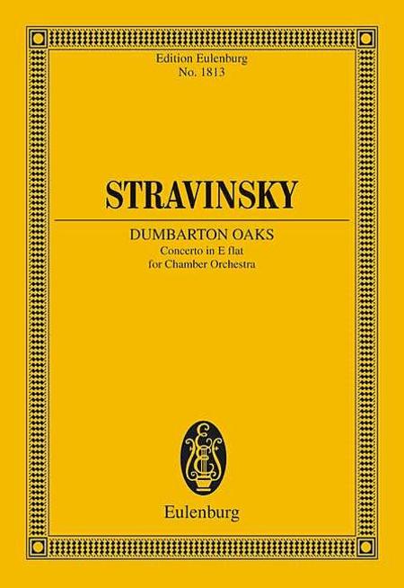 Concerto in E-flat Major Dumbarton Oaks