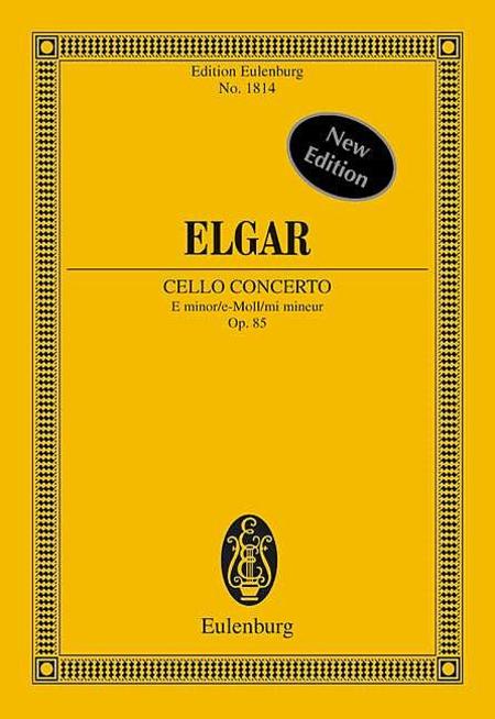 Concerto in E Minor, Op. 85