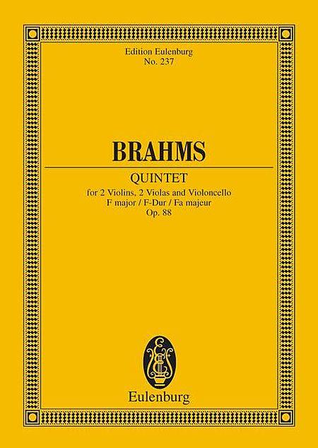 String Quintet in F Major, Op. 88